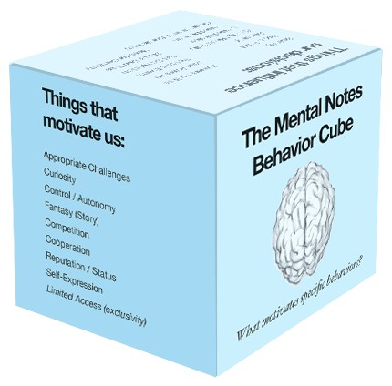 Mental Notes Behavior Cube (assembled)