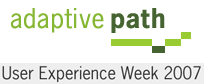 Adaptive Path's User Experience Week